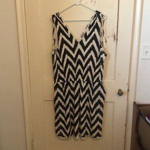 Lucky brand chevron dress